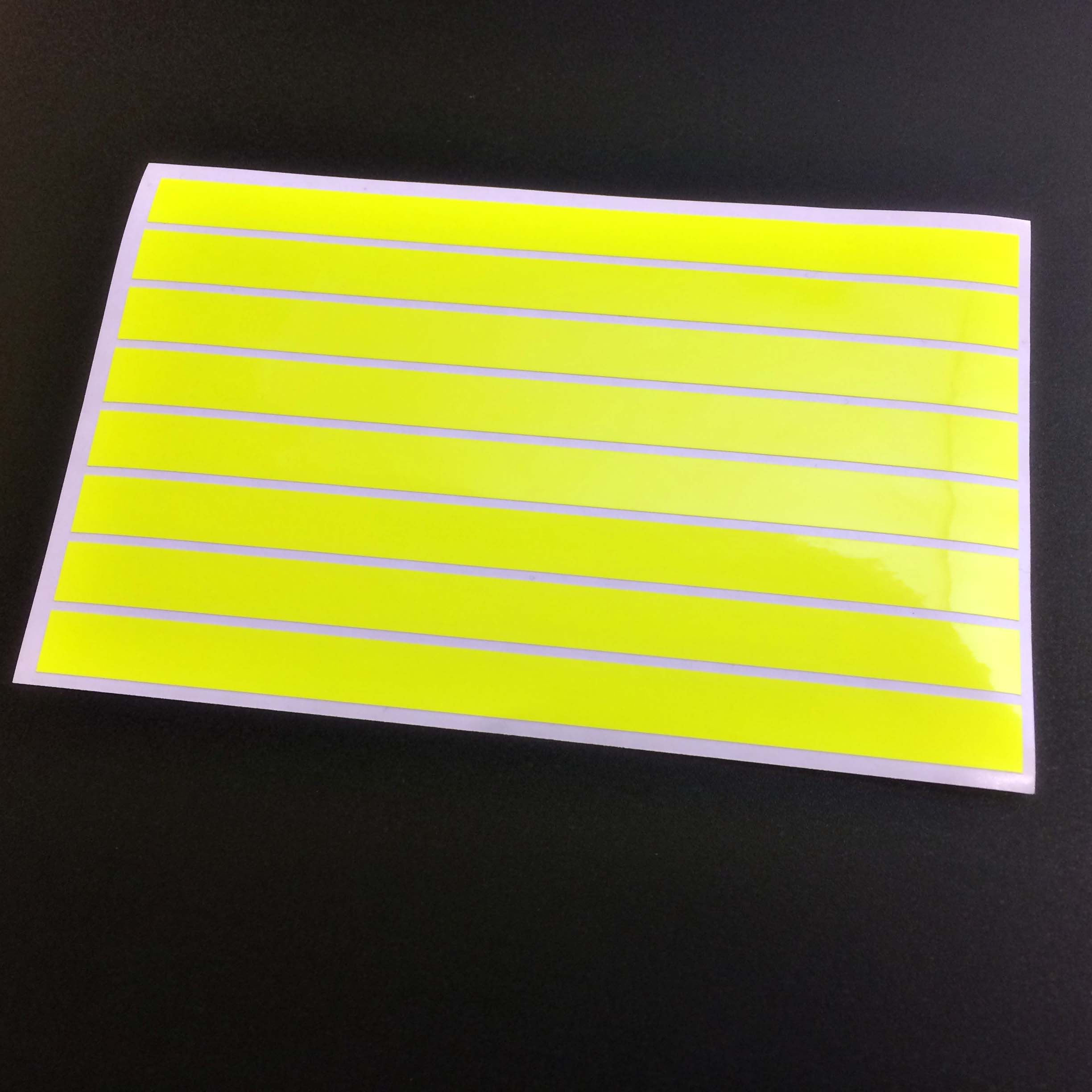 Reflective or Fluorescent Strips Stickers